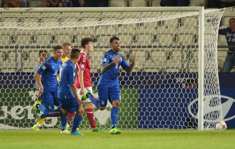 Europei Under 21: l'Italia batte all'esordio la Danimarca per 2-0. Contestato Donnarumma