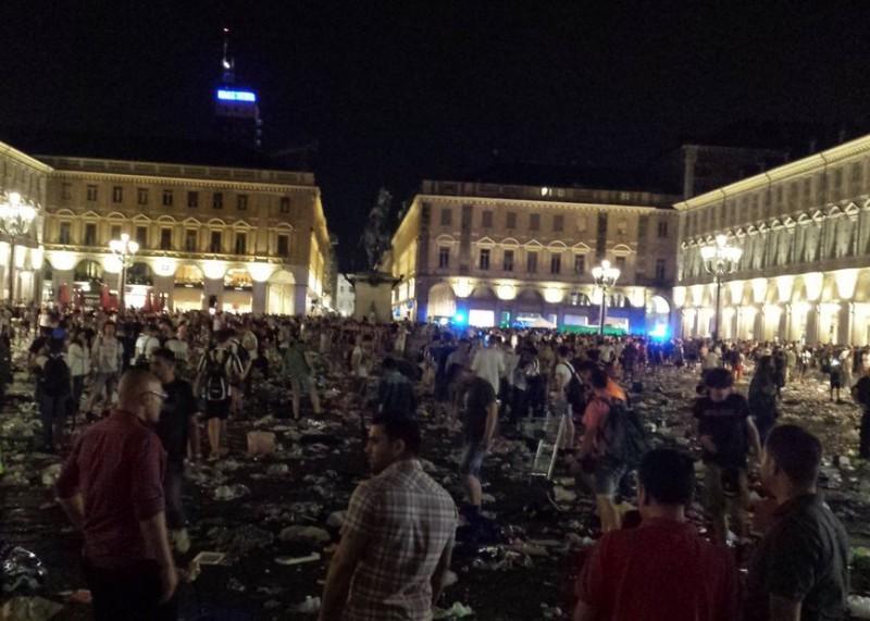 Panico in piazza San Carlo, per Erika grave danno cerebrale