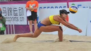 Beach volley, World Tour 2017, Nantong. Trionfo cinese sulla sabbia di casa