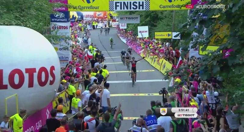 Dylan Teuns fa suo il Giro di Polonia
