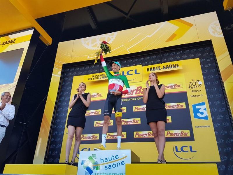 Tour de France, Fabio Aru vince in salite la quinta tappa