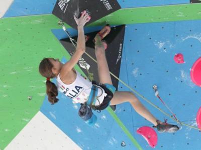 Arrampicata sportiva: Laura Rogora seconda nella qualificazione del Lead, Stefano Gandolfi svetta tra gli uomini