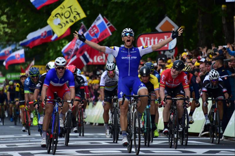 Tour de France, Kittel batte Demare e Greipel. Thomas sempre in giallo