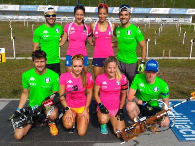 Biathlon: la squadra di Coppa del Mondo è in partenza per Ruhpolding, juniores ad Anterselva