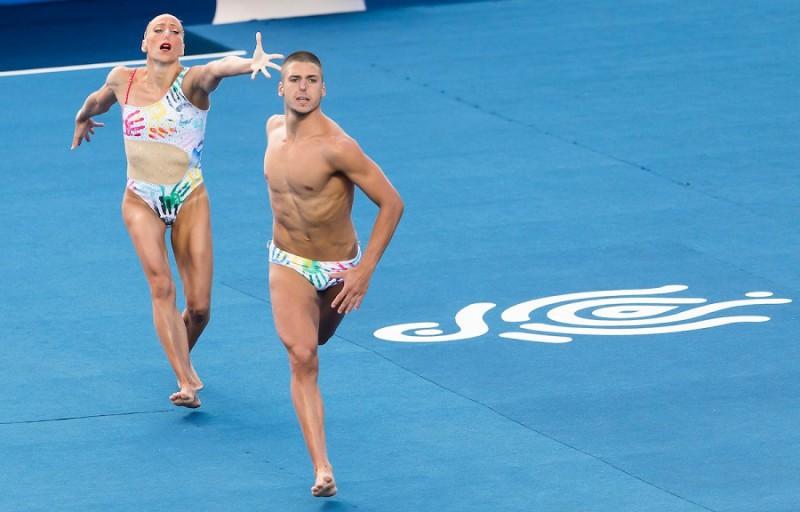 [Foto] Mondiali nuoto sincronizzato: l'Italia vince la Medaglia d'Oro!