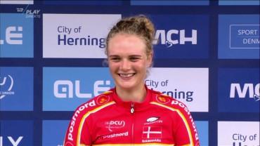 Ciclismo, Europei 2017: doppietta danese a crono con Mathiesen oro tra le under 23 femminili, ottava Morzenti