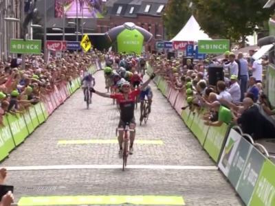 BinckBank Tour 2017 – Tom Dumoulin vince la classifica generale! In trionfo dopo il Giro d'Italia. Tappa finale a Jasper Stuyven