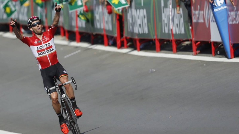 Vuelta, vince Alaphilippe Froome sempre leader