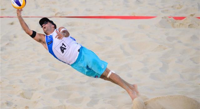 Beach volley, Mondiali Vienna 2017. Ranghieri/Carambula si inchinano a Lucena/Dalhausser. Azzurri 17mi