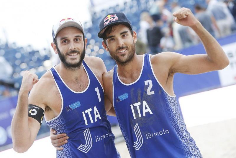 Beach Volley: Lupo-Nicolai ancora sul tetto d'Europa