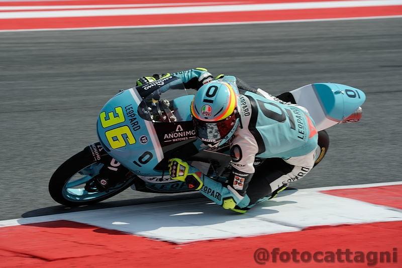 Moto3, FP3: Canet suona la carica a Misano, Bastianini insegue
