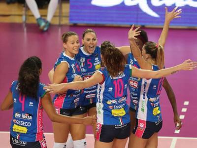 Volley femminile, Serie A1 – Prima giornata: Egonu immensa e Novara sogna, Conegliano corazzata, Casalmaggiore scende, Scandicci esplode
