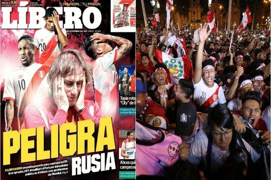 Calcio, Mondiali Russia 2018: il Perù rischia l'esclusione. L'Italia può essere ripescata?