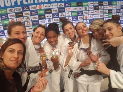 Judo, Europei per club 2017: le Fiamme Gialle conquistano il bronzo nella Europa League