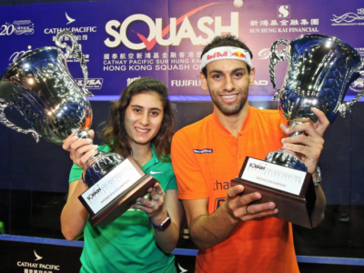 Squash: trionfo totale dell'Egitto all'Hong Kong Open 2017