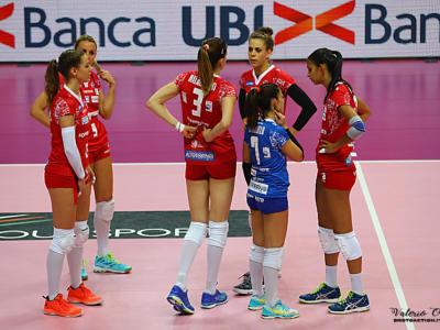 Volley femminile, Serie A1 2017-2018 – Nona giornata: Bergamo sconfigge Filottrano nella sfida salvezza, show di Acosta