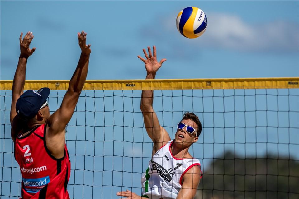 Beach volley, World Tour 2018, Sydney. I finalisti di Aalsmeer tra Abbiati/Andreatta e i quarti