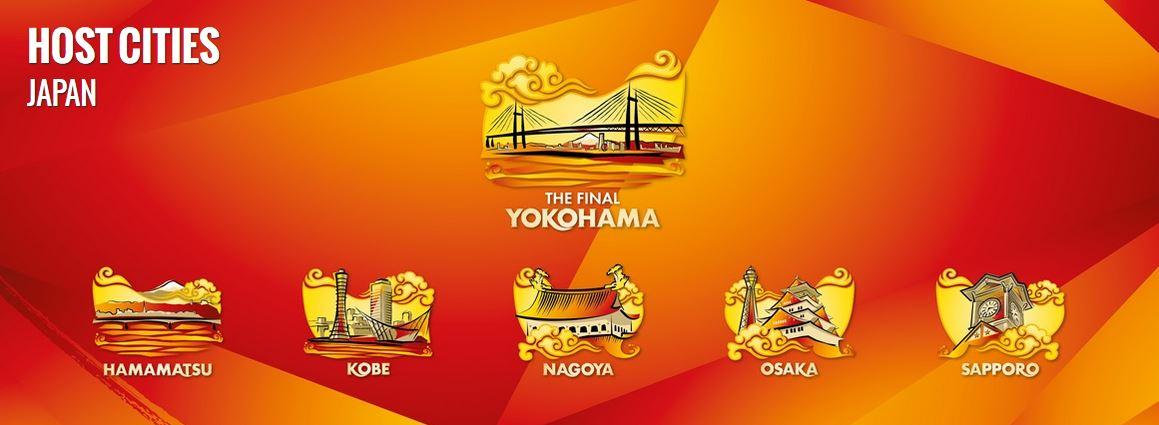 Volley femminile, Mondiali 2018 – Ufficializzate le città e le sedi delle partite: Finali a Yokohama. L'Italia vola in Giappone