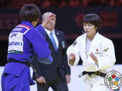 Il 2017 del judo. Ai Shishime spodesta Majlinda Kelmendi nella categoria 52 kg