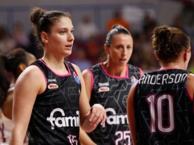 Basket femminile, Eurolega 2018: il Famila Schio spreca il primo match point. Vince Ekaterinburg