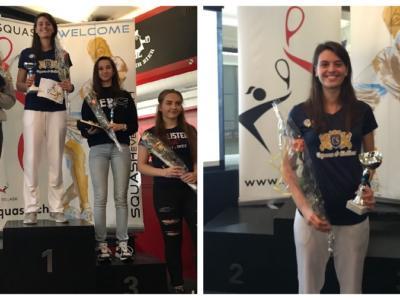Squash: storica vittoria per la giovane Cristina Tartarone