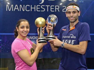 Squash, Mondiali 2017: trionfo egiziano a Manchester, iridati Mohamed El Shorbagy e Raneem El Weleily