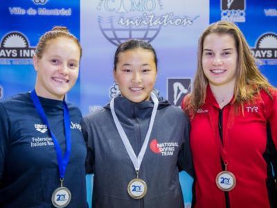 Tuffi, CAMO International 2017: Pellacani, Porco e Volpe a podio tra i giovani