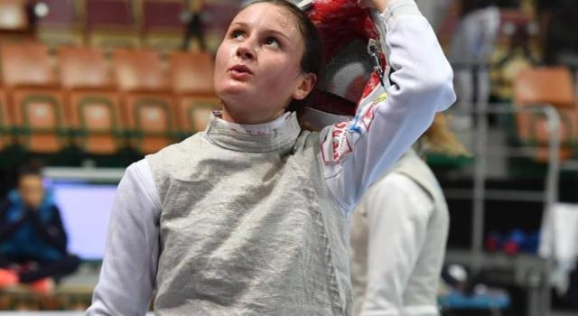 """Scherma, Camilla Mancini: """"Sogno la partecipazione alle Olimpiadi"""""""