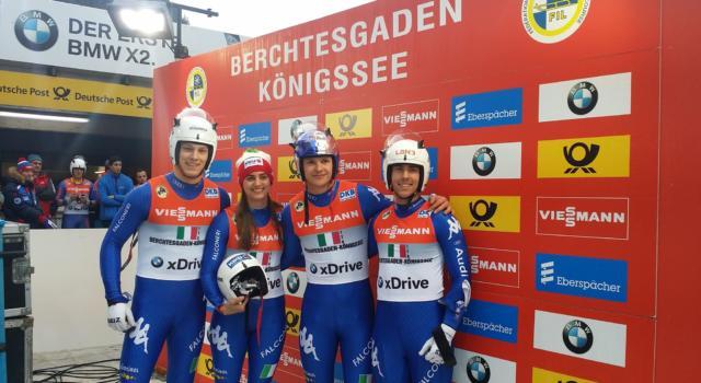 Slittino, ITALIA CAMPIONE D'EUROPA! Apoteosi a Oberhof nel team-relay, battuta la Germania! Impresa eroica!