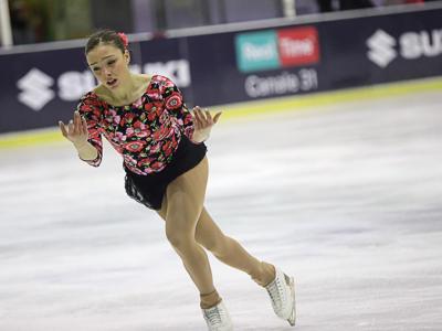 """Pattinaggio artistico, Giada Russo è pronta per PyeongChang 2018: """"Voglio vivere con intensità ogni istante"""""""