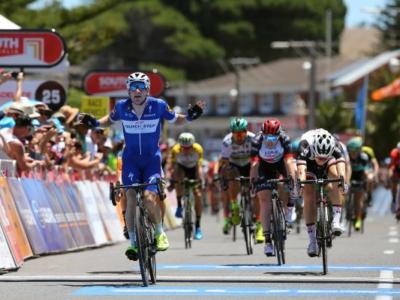 Cadel Evans Road Race 2018: Jay McCarthy supera Elia Viviani in volata