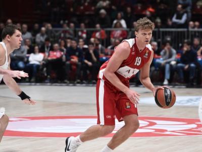 Basket, Eurolega 2018: la Stella Rossa segna 100 punti e Milano cade a Belgrado