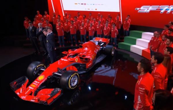 LIVE F1, presentazione Ferrari 2018 in DIRETTA: Vettel e Rai