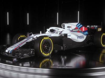 F1, Mondiale 2018: presentata la nuova Williams. Tante le novità, cambia l'aerodinamica