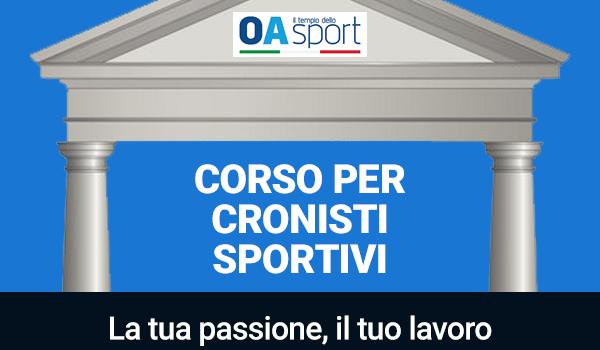 """""""Corso per Cronisti Sportivi"""" di OA Sport. La tua passione, il tuo lavoro. Come diventare un giornalista"""