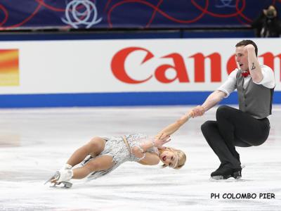 Pattinaggio artistico, Mondiali 2018: Aljona Savchenko e Bruno Massot da record sul tetto del mondo. Storico quinto posto per Della Monica-Guarise