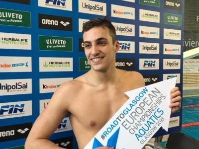 Nuoto, Mondiali 2019: enorme Filippo Megli che polverizza il record italiano e centra la finale dei 200 stile libero