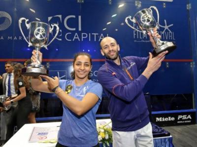 Squash, El Gouna International 2018: gli egiziani trionfano nel torneo di casa