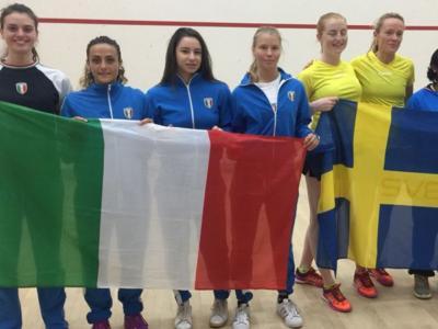 Squash, Campionati Europei a squadre 2018: l'Italia femminile ottiene la promozione in seconda divisione