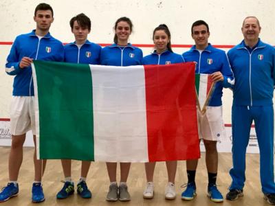 Squash: Italia tredicesima agli Europei Under 19, trionfa l'Inghilterra