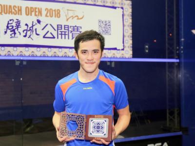 Squash: vittorie a sorpresa al Macau Open 2018