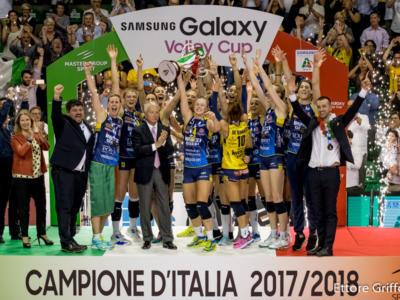 Volley, uno scudetto da Pantere! Conegliano, la più forte e cattiva: da Fabris a De Gennaro, da Hill a Folie. La festa delle Campionesse d'Italia