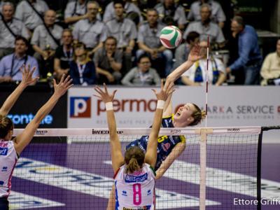 Volley femminile, Finale Scudetto 2018: le pagelle di gara3. Wolosz e Fabris show, Egonu e Piccinini surclassate