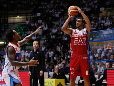 Basket, Playoff Serie A 2018: Milano domina gara-2 e pareggia la serie contro Brescia
