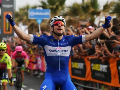 Giro d'Italia 2018: STRAPOTERE Elia Viviani! Seconda vittoria consecutiva, 2° Modolo!