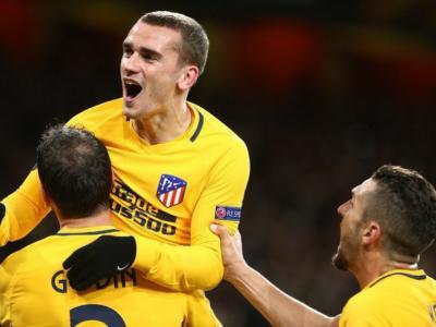 Atletico Madrid-Arsenal, su che canale vederla in tv? Programma, orario e probabili formazioni del ritorno di Europa League