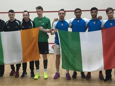 Squash, Europei a squadre 2018: gli Azzurri ottengono il bronzo nella seconda divisione, promozione sfiorata