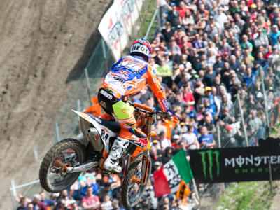 Motocross, GP Imola 2018: Jeffrey Herlings domina la qualifying race, Cairoli cade e chiude ultimo