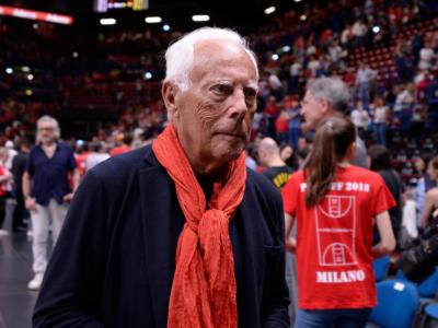 """Basket, Giorgio Armani: """"Milano è pronta ad aprire un ciclo. Al Forum mi sento a casa"""""""