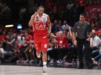 Basket, Finale Scudetto 2018: non c'è storia in gara 1. Milano domina Trento grazie a un super Goudelock e vince 98-85